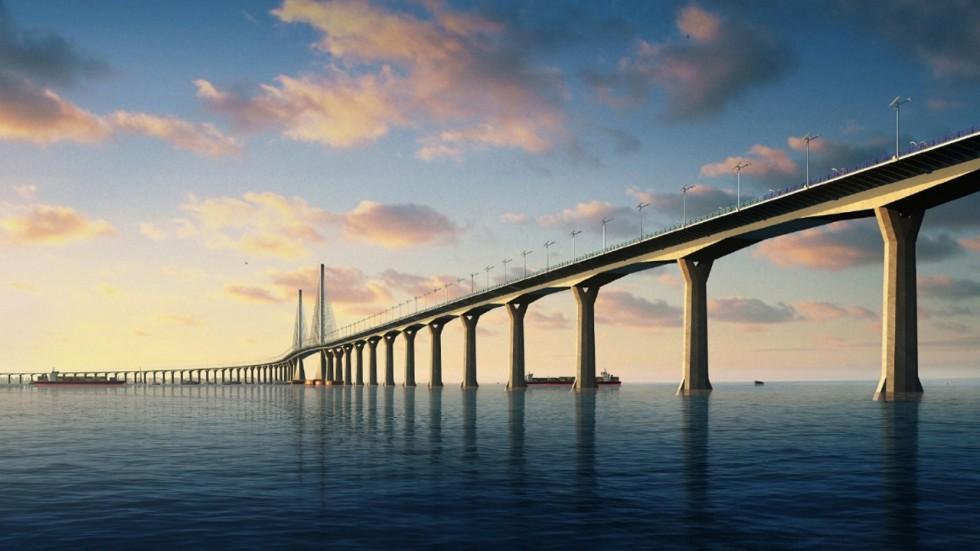 Otvoren najduži most preko mora u Kini
